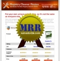 Thumbnail Registry Review Site with MRR (Master Resale Rights)