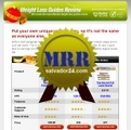 Thumbnail Weight Loss Review Site with MRR (Master Resale Rights)
