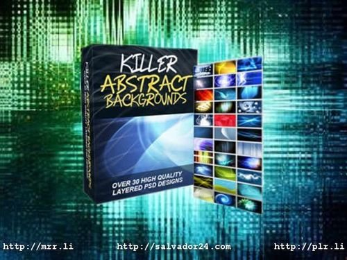 Product picture Killer Abstract Backgrounds v1