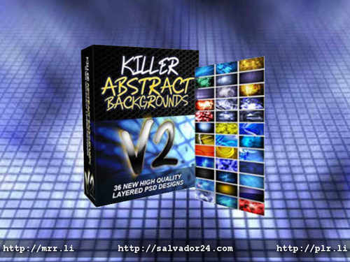 Product picture Killer Abstract Backgrounds v2