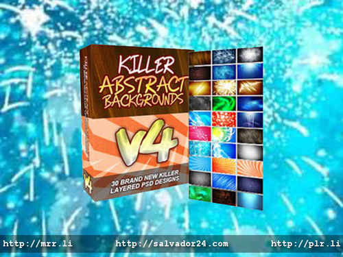 Product picture Killer Abstract Backgrounds v4