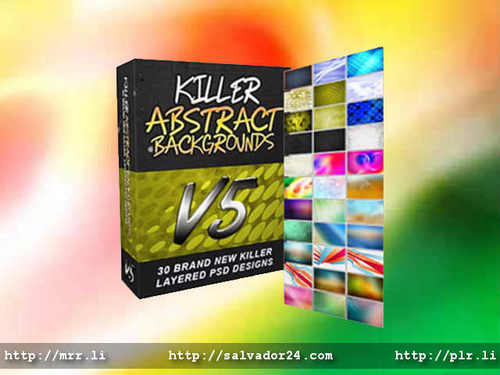 Product picture Killer Abstract Backgrounds v5